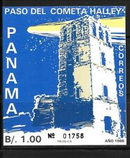 PANAMA Sc 695 NH SOUVENIR SHEET of 1986 - SPACE - HALEY'S COMET