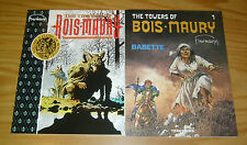 the Towers of Bois-Maury #1-2 VF/NM complete series - hermann graphic novels set