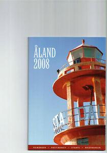 Aland-- Jahresbriefmarkenheft 2008  postfrisch