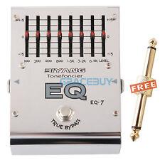 Biyang Tonefancier Eq-7 7 bands Equalizer EQ Eléctrica guitarra pedal de efectos