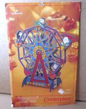 PEANUTS unused centerpiece Charles Schultz vtg Snoopy 1965 decor Ferris Wheel