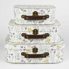 Wildflower Set di 3 valigie decorativo da Sass & Belle