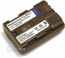 Battery for Canon BP-511 BP-511A EOS 20D 10D Digital MV630i ZR10 ZR65MC ZR-10