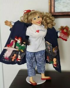 "RARE NEW IN BOX Designer Guild Collection 17"" Pat Kolesar Doll The Collector HTF"