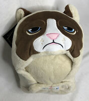 GRUMPY CAT Comfy Critters Stuffed Animal Blanket /& Pillow /& Coloring Book NEW