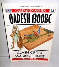 BOOK OSPREYCampaign #22 Qadesh 1300 BC Clash of the Warrior Kings 1st Ed op 1993