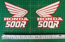 89' 1989 CR500 dirtbike decals stickers CR 500 CR500R shroud AHRMA VMX Elsinore