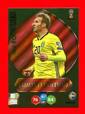 WC RUSSIA 2018 -Panini Adrenalyn-Card Limited Edition Brasil- TOIVONEN - SWEDEN