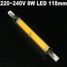 220~240V 8W J118 118mm R7s COB LED LIGHT BULBS Replacement Halogen lamp Tube