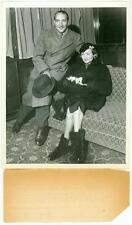 CONSTANCE BENNETT ORIGINAL PRESS PHOTO MARQUIS DE LA FALAISE 1936