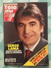 TELE STAR French n 647 Fev 1989 - Serge LAMA Lauren HUTTON Tom CRUISE Betty BOOP