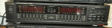 Vintage Technics Sh-8058 Stereo Graphic Equalizer Eq and Spectrum Analyzer