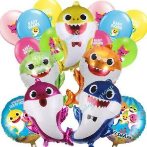Baby Shark Balloon Set Party Supplies Set Easy Set up Premium Quality