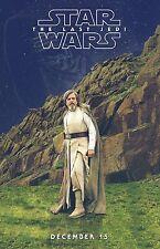 STAR WARS L'ULTIMO JEDI THE LAST JEDI MANIFESTO TEASER DAISY RIDLEY MARK HAMILL