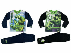 BOYS OFFICIAL MARVEL HULK  PYJAMAS BRAND NEW  WITH TAGS AGES: 4-5  to 12-13 YRS