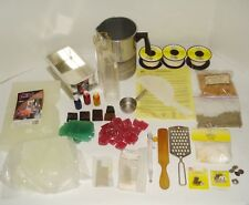 Wax Candle Making Supply Kit Pouring Container Clip Wick Mold Dye Stearine