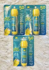 THREE Ocean Potion Dab-On Spot Stick 50 SPF 0.65oz BBD 12/20 Matte Reef Friendly