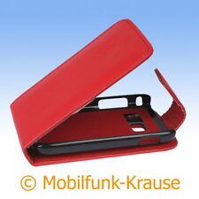 FLIP Case Astuccio Custodia Cellulare Borsa Astuccio Per Samsung gt-s6102/s6102 (rosso)