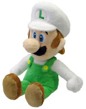 "Official San-ei 9"" Fire Luigi Plush Super Mario Series Plush Doll 1250"
