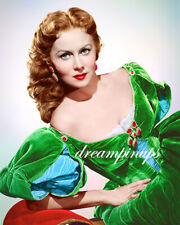 RHONDA FLEMING 1952 Hollywood Color Portrait THE GOLDEN HAWK