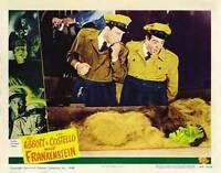 BUD ABBOTT LOU COSTELLO MEET FRANKENSTEIN Movie POSTER 11x14 J Bud Abbott Lou
