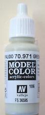 Vallejo Model Color Paint: 17ml Grey Green Grey 70971 (M106)