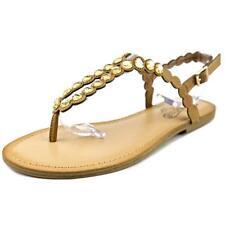 Sandali e scarpe marrone con cinturino per il mare da donna