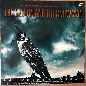 THE FALCON & THE SNOWMAN soundtrack vinyl Pat Metheny / David Bowie / OST 1985