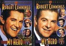 My Hero Complete Volumes 1 & 2 DVD Set Series TV Show Bob Cummings First Second