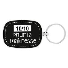 Porte-Clés 10/10 Pour La Maîtresse Cadeau Original École DLP Derrière La Porte