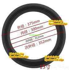 1pcs 15-inch 3-lines Speaker cloth edge surround audio repair part stage