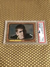 2005 TOPPS HERITAGE FOILBOARD AARON RODGERS ROOKIE PSA 9 MINT PACKERS