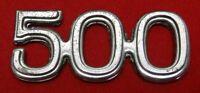 """500 Metal Emblem 2-1/4"""" Long"""