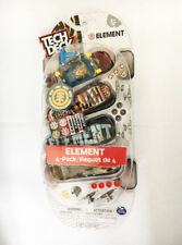 ULTRA RARE NEW 4 PACK Tech Deck Element 96mm Fingerboards