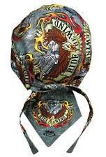 Patriotic American Ride The Wind Eagle Bandanna Sweatband Durag Biker Head Wrap