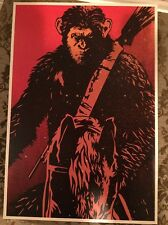Planet Of The Apes Rare Limited Triple Feature Poster