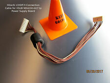 HITACHI 42HDF39 Connection Cable for XSUB ND60200-0037 to Power Supply Board