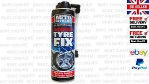 1X EMERGENCY FIX TYRE QUICKLY SEAL & INFLATE TYRE 300ML  AUTO EXTREME*UK SELLER*