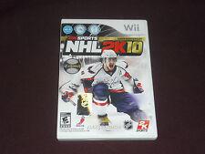 NHL 2K10 (Nintendo Wii, 2009) COMPLETE