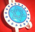 STAR OF DAVID 3D Epoxy Diamond design Poker Chip Golf Ball Marker Card Guard W