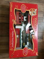 Rudolph the Red Nosed Reindeer Battery Operated Train Set