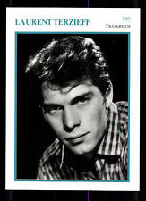 Laurent Terzieff STARPORTRAITKARTE - 80er Jahre TOP  + G 22069