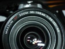 Minolta Maxxum AF Zoom 35-105 mm 1:3.5 (22) - 4.5 with Maxxum 5000i Camera