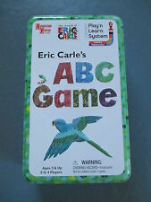 Eric Carl's ABC Game from University Games Alphabet Lower & Upper Case 3+ VGUC