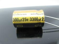 JAPAN 4PCS Nichicon  FW 3300uf 25v 3300mfd Audio Capacitor