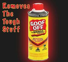 Goof Off The Miracle Remover Stain Spot Graffiti Oil Paint Glue Remover 474ml