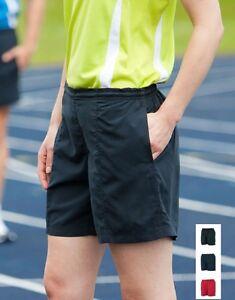 Tombo Sport D'Équipe Femmes Tout Usage Doublé Exercice Gym SPORTS Short