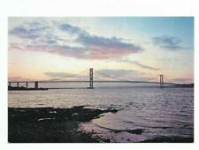South Queensferry :Forth Road Bridge at Sunset