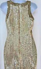 4K Auth VALENTINO Evening RED Carpet SEQUINS Swarovski CRYSTALS Embelished DRESS