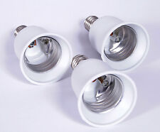 3 x E14 auf E27 Lampensockel Adapter Lampen Fassung Sockel Adaptersockel [#1060]